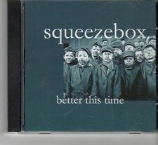 (FR465) Squeeze Box, Better This Time - 2003 CD