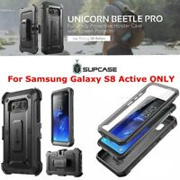 For Samsung Galaxy S8 Active, SUPCASE Full-body Case Cover with Screen Protector