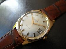 Beautiful 1968 Omega Geneve Automatic Men's Watch~Rose Gold Case~Cal 565~WOW!
