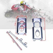 """2Pcs/Set 7/8"""" 22mm HandleBar Kits Mounting Clamp Riser Holder for ATV Dirt Bike"""