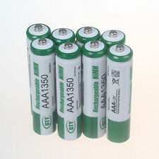 8 Pcs AAA 1350mAh Ni-MH Rechargeable Battery Batteries for Camera Toys