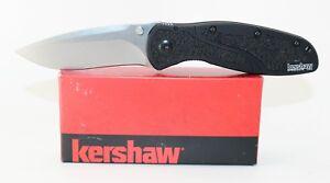 Kershaw Blur S30V Stone Washed Assisted Opening Pocket Knife 1670S30V
