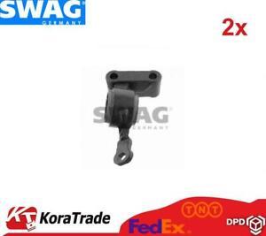 2x SWAG 11933575 FRONT CONTROL ARM TRAILING ARM BUSH X2 PCS
