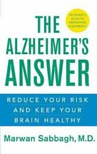 The Alzheimer's Answer: Reduce Your Risk and Keep Your Brain Healthy-ExLibrary