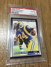1990 Score Supplemental Marcus Dupree #1T Rookie RC PSA 10 Gem Mint