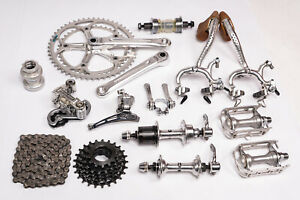 Vintage Shimano 600EX Bicycle Groupset Racing Bike Group Set 6200 Parts