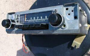 Works AM RADIO Mopar Dodge Dart Plymouth Duster A Body 1970 1971 1972 1973 74 75