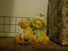 "Cherished Teddies 597392 Chelsea & Daisy ""Old Friends Always."" 1999 New in Box"