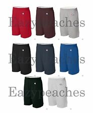 "Champion Men's S-XL, 2XL, 3XL, Athletic Cotton Pocket Gym Shorts 9"" Inseam, 8180"