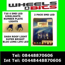 T10 4 SMD LED 501 Blu veilleuse DASH TARGA LAMPADINE PER IVECO NON CANBUS
