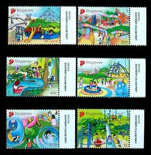 Singapore Stamps 2010 Playgrounds, Children (VERY BEAUTIFUL) 游乐场