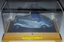 EMC 1/43 1937 Mercedes Benz 540K Special Roadster Blue Goose 101st Airborne /150