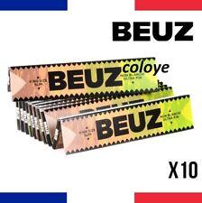BEUZ SLIM BROWN Lots 10 Carnets de Feuilles à Rouler