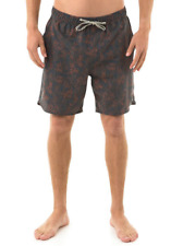 2017 NWT MENS CAPTAIN FIN TROPICAL WONDER BOARDSHORTS $50 M rust swimsuit
