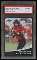 PAT MAHOMES II 2017 LEAF LIMITED 1ST GRADED 10 ROOKIE CARD RC KC CHIEFS Patrick
