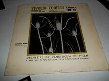HARMONIA MUNDI LP french PRESS VIVALDI TORELLI RAPP ROSADA POLI HM-738 EXCELLENT