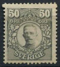 Sweden 1910-1919 SG#81, 50ore Grey MH #A91374