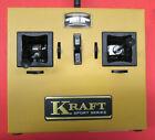 Vintage Kraft KPT-6 transmitter with FrSky 2.4 GHz and PhilG coder