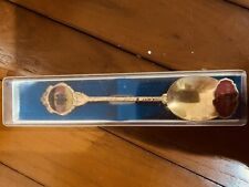 Antiques Rare England Tea Spoon Moccaloffel 1942
