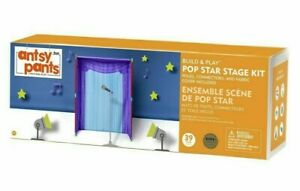 NEW Antsy Pants Build and Play POP Star Stage Kit Kids Playset SEALED