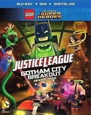 LEGO DC Comics Super Heroes:Justice League,Gotham City Breakout,Blu-ray,SKU4103
