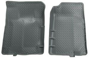 1988-1999 GMC C1500 2500 Husky Classic Style Grey Front Floor Liners Free Ship