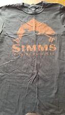 Simms Fishing Products Tshirt small NWOT