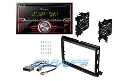 PIONEER DOUBLE 2 DIN BLUETOOTH CAR STEREO RADIO RECEIVER W/ DASH KIT & HARNESS