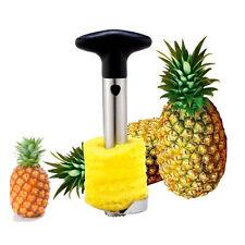 Stainless Steel Fruit Pineapple Corer Slicer Cutter Peeler Easy Kitchen Tool 31y