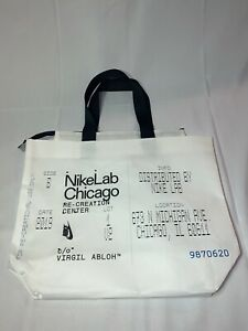 NikeLab Chicago X OFF-WHITE Reusable Tote Bag With Dogtag *ALL-STAR WEEKEND 2020
