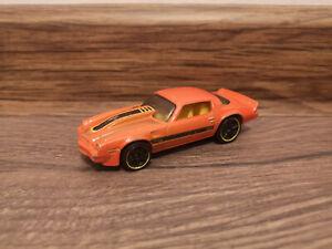 Hot Wheels Chevy Camaro, Orange - 1:64 1/64 diecast