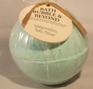 Watermelon bath bomb 2 x 100g halves together