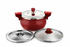 Pigeon All in One Super Cooker, 5 litres, Red