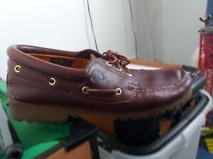 timberland moccasins mens shoes size uk 11