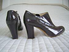 NUOVE Clarks CUB Active Air pelle verniciata scarpe Stivali stivaletti tacchi Spessa Grigio 6