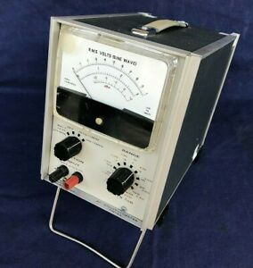 AC Millivoltmeter ADVANCE VM 78A