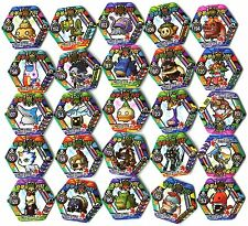 POGS - V-MS-HEX 25 003 Lot de 25 Pogs MAPLESTORY MAPLE STORY HEXAGONAUX Neufs