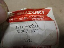 Suzuki OEM NOS rear brake pedal lever 43110-07200 B100 P