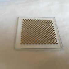 New Chess board OpenCV Correct lens distortions calibration plate 5 x 5mm