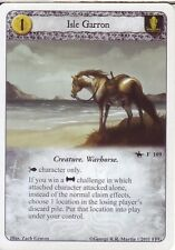 3 x Isle Garron AGoT LCG 1.0 Game of Thrones A Poisoned Spear 109