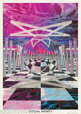 POSTER : OPTICAL ILLUSION : VIRTUAL INFINITY -  FREE SHIPPING !  #VR0015 RC41 A