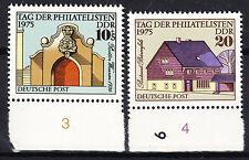 DDR 1975 Mi. Nr. 2094-2095 mit Rand Postfrisch (26296)