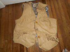 Vintage Child Deerskin Custom Coat Co Berlin Wi Cowboy Mountain Man Vest Outfit