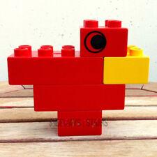 1983 Duplo Mcdonalds Happy Meal Toy cardinal bird set #1918 vintage Lego 1980s