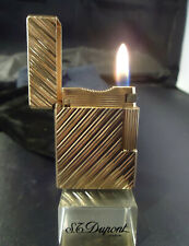S. T. Dupont Line 1 Lighter - Rose Gold Plated - Newly Serviced