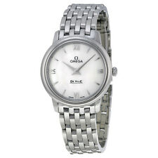 Omega DeVille Stainless Steel Ladies Watch 424.10.27.60.05.001