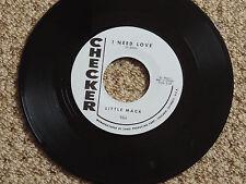 LITTLE MACK - I NEED LOVE (R&B Jiver) b/w THE KNIGHT BROS. - LOVE (Screamin Soul