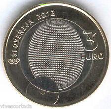 Nuevo design 3 Euros Slovénie 2012  @ Rudolf Cvetko @