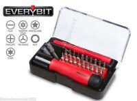 Tekton 2830 EveryBit Tool Kit/Bit Set for Electronics 27pc NEW