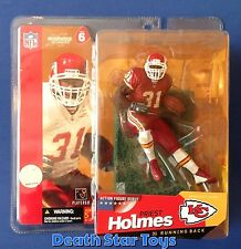 McFarlane Toys NFL Priest Holmes Red Chase Variant Kansas City Chiefs S6 2003